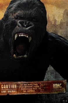 Póster KING KONG - scream