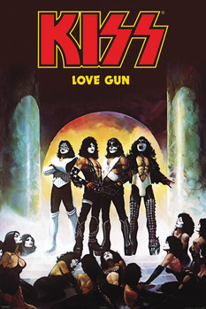 Póster Kiss - love gun
