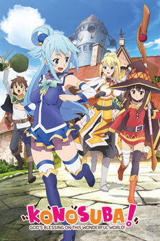 Póster KonoSuba: God's Blessing on This Wonderful World! - Key Art
