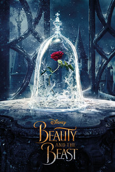 Póster  La bella y la bestia - Enchanted Rose