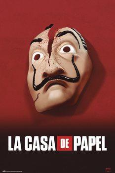 Póster La Casa De Papel - Mask