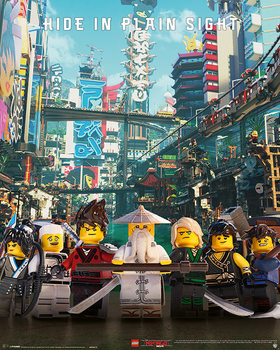Póster  La Lego Ninjago película - Hide in Plain Sight