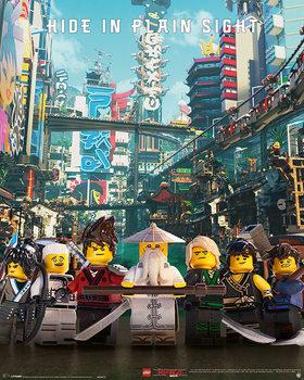 Póster La Lego Ninjago película - Hide in Plain Sight