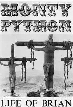 Póster LA VIDA DE BRIAN - monty python