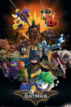 Póster Lego Batman - Boom