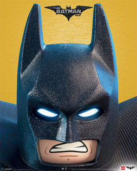 Póster Lego® Batman - Close Up