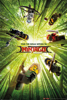 Póster LEGO® Ninjago Movie - Bamboo