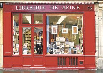 Librairie De Seine Kunstdruk