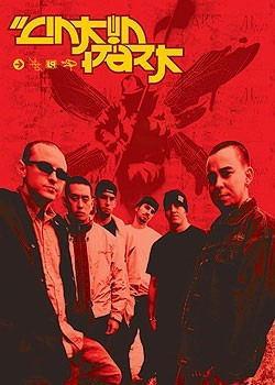 Poster Linkin Park - group and logo