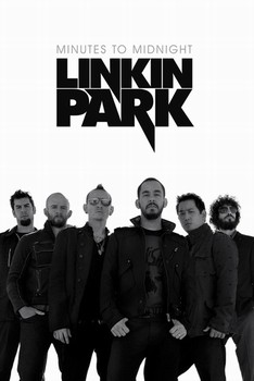 Poster Linkin Park - white