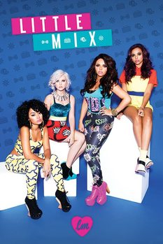 Poster Little mix - Blue mix