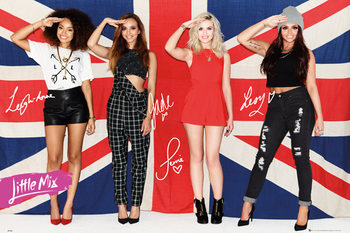 Poster Little mix - flag