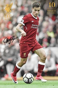 Poster Liverpool - Countinho 17/18