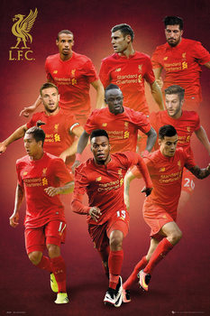 Póster Liverpool - Players 16/17