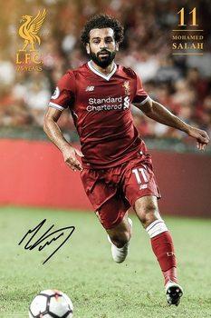 Poster  Liverpool - Salah 17/18