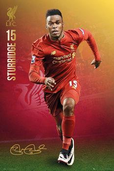Póster Liverpool - Sturridge 16/17