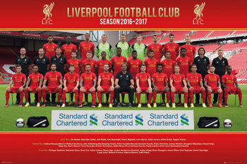 Póster  Liverpool - Team Photo 16/17