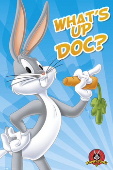 Póster  LOONEY TUNES - bugs bunny