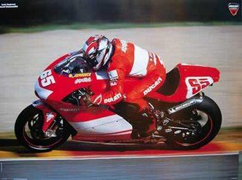 Póster Loris Capirossi - Moto GP