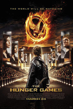 Póster LOS JUEGOS DEL HAMBRE - HUNGER GAMES - The World Will Be Watching