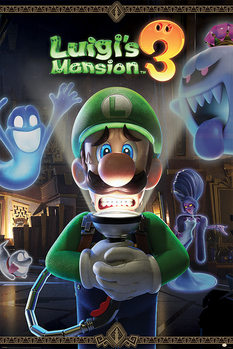 Póster Luigi's Mansion 3 - You're in for a Fright