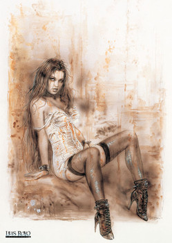 Poster  Luis Royo – alone
