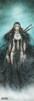 Poster Luis Royo - daughter of the moon