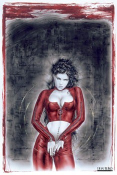 Poster Luis Royo - prohibited 3