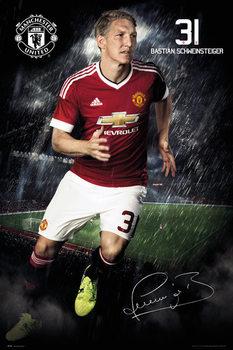 Póster Manchester United FC - Schweinsteiger 15/16