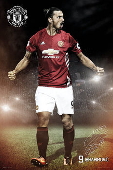 Poster Manchester United - Ibrahimovic 16/17