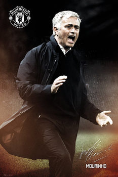 Póster Manchester United - Mourinho
