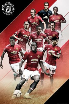 Poster  Manchester United - Players 17/18