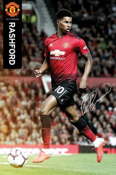 Póster  Manchester United - Rushford 18-19