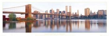Poster Manhattan - sunrise
