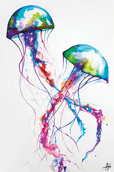 Póster  Marc Allante - Jellyfish