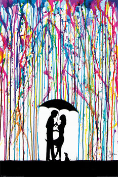 Póster  Marc Allante - Raining Colour