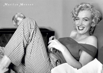 Póster Marilyn Monroe – bed