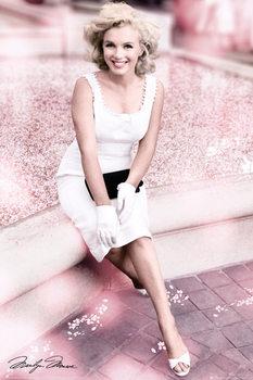 Marilyn Monroe - Plaza Hotel Blossom Poster / Kunst Poster