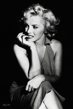 Póster Marilyn Monroe - sitting