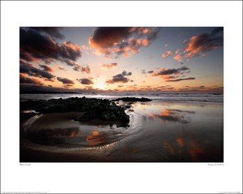 Marina Cano - Sunset, Cantabria Kunstdruk