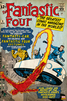 MARVEL - fantastic four Poster