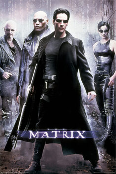 Poster Matrix - Hacker