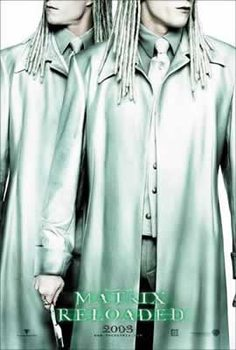 Poster MATRIX RELOADED - twins