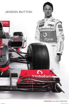 Póster McLaren Double - button