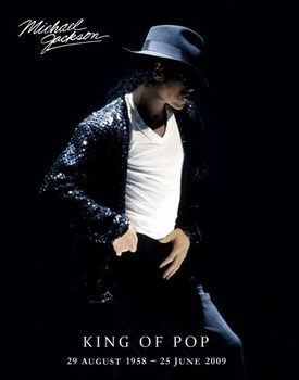 Poster Michael Jackson - king of pop