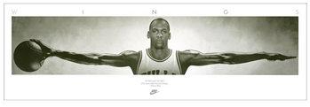 Póster Michael Jordan - Wings, basketball