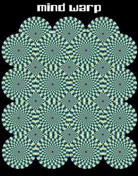 Poster Mind warp – circles