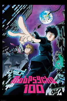 Póster  Mob Psycho 100 - City