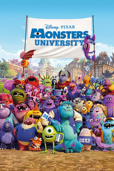 Poster  MONSTERS UNIVERSITY – one sheet