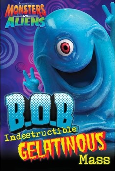 Poster MONSTERS vs. ALIENS - B.O.B.